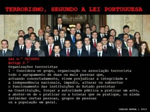 Terrorismo em Portugal