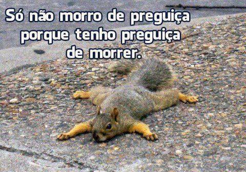 Morrer-Preguica