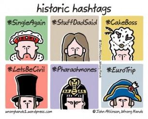 Hashtags Historicas