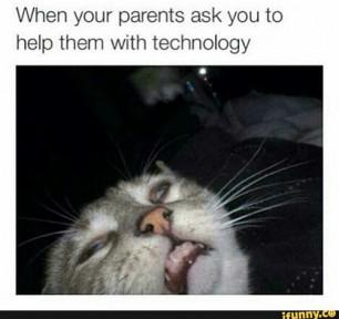Quando os teus pais pedem ajuda com tecnologia