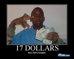 Woooo 17 dolares