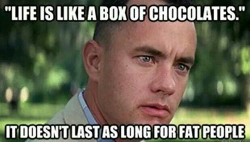 Hahaha Yep Chocolate
