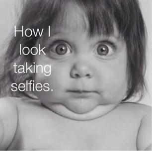 Selfie sai Sempre Assim