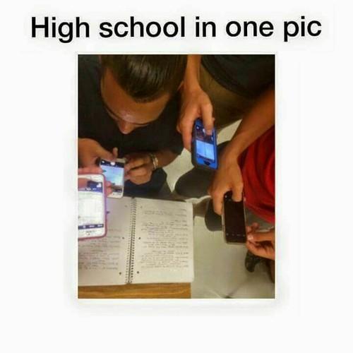 Escola numa Foto